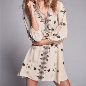Free People Star Gazer Mini Dress